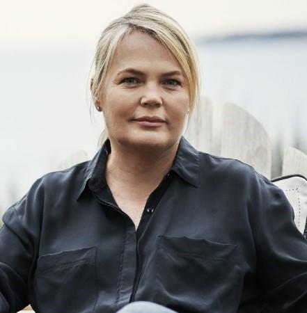 Porträttbild av Kristina Lindhe