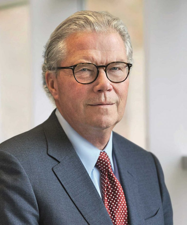 Porträttbild av Leif Johansson